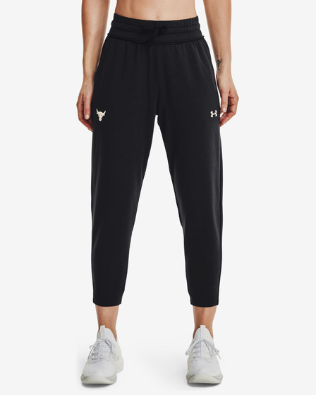 Under Armour Project Rock Terry Crop Joggings