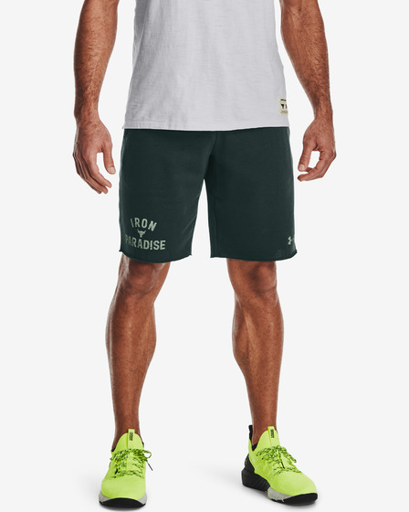 Under Armour Project Rock Terry Iron Shorts