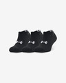 Under Armour Core No Show Set of 3 pairs of socks