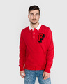 Franklin & Marshall Polo sweatshirt