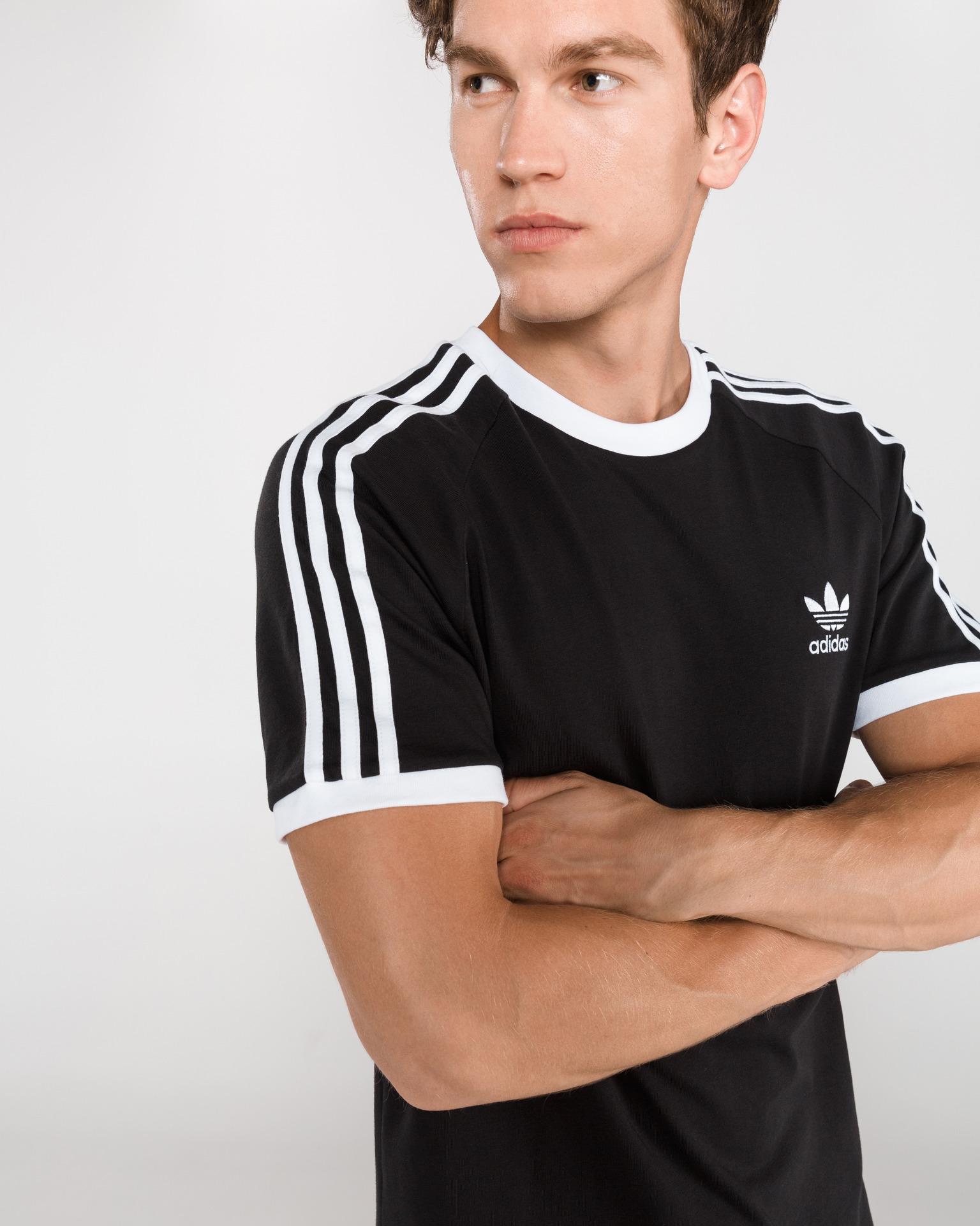 adidas Originals - 3-Stripes T-shirt Bibloo.com