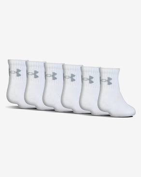Under Armour Charged Cotton® 2.0 Kids socks 6 pairs